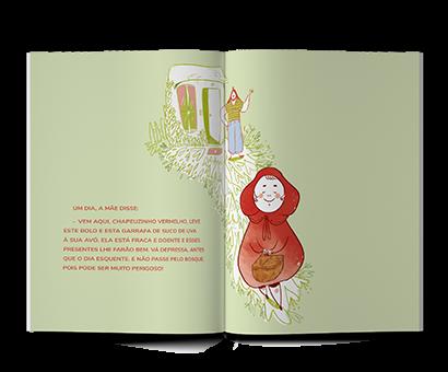 Chapeuzinho vermelho Ciranda 3 anos