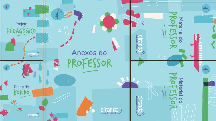Mosaico Ciranda 4 anos professor